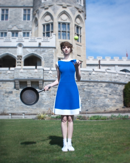 Fashion photography, casa loma Toronto, beautiful day, photography