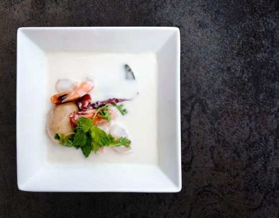Prawn Laska Coconut Soup