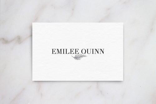 Emilee Quinn logo design