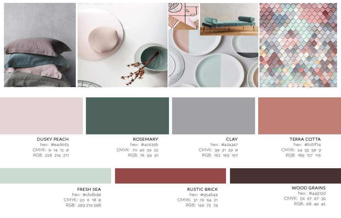 Aje's Colour Story - earth tones
