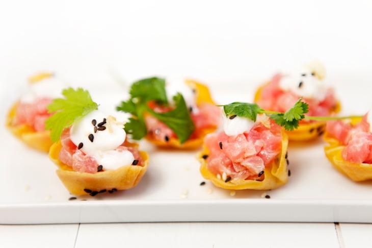 Bymark - tuna tartare - summer patio menu