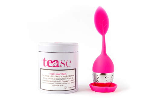 Tease Tea - Tea Tin + Tea leaf diffuser